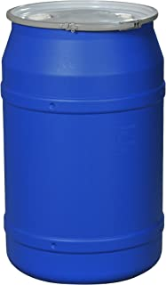 Eagle 1656MBBG Straight-Sided Drum with Metal Band and Plastic Lid with Bungs 55  sc 1 st  Amazon.com & Eagle 1601MB Blue High Density Polyethylene Lab Pack Drum with Metal ...