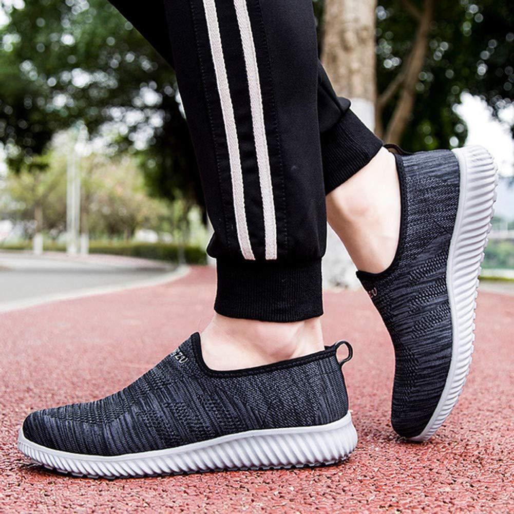 XIGUAFR Chaussure de Sport en Plein Air Femme Homme en Toile Respirant Chaussure de Marche a Enfiler Souple L/éger R/ésistant /à lusure