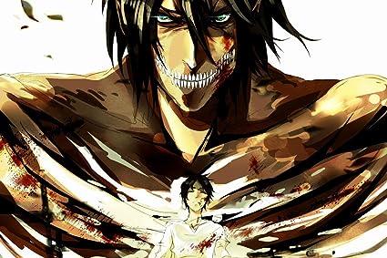 Amazon Com Momoso Store Anime Attack On Titan Eren Yeager