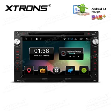 XTRONS Android 7 1 Car Stereo Radio 16G ROM 7 Inch: Amazon