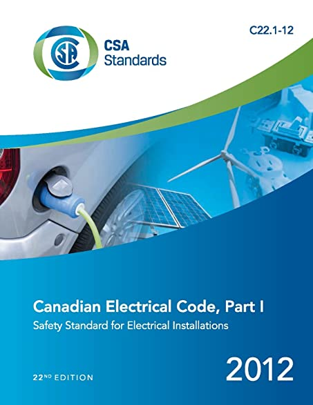 Amazon.com : Canadian Electrical Code: CSA Standard C22.1-12. Safety ...