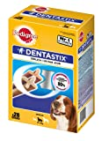 Pedigree Dentastix Dental Dog Chews - Medium Dog, Pack of 4 (Total 4 x 28 Sticks)