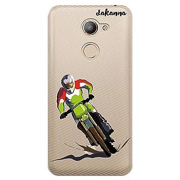 dakanna Funda para Vodafone Smart N8 | Motocross | Carcasa ...