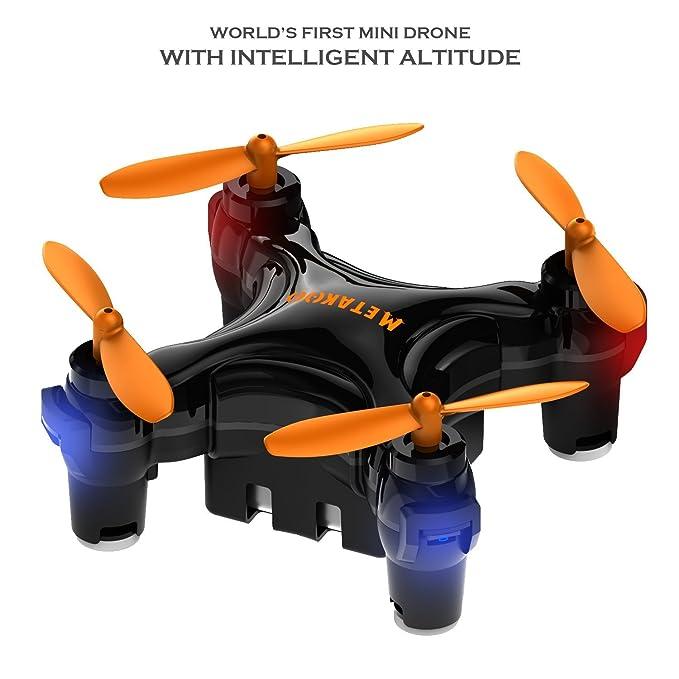Metakoo Mini Drone Quadcopter Altitud Mantenga 2.4G 4 canales 6 ...