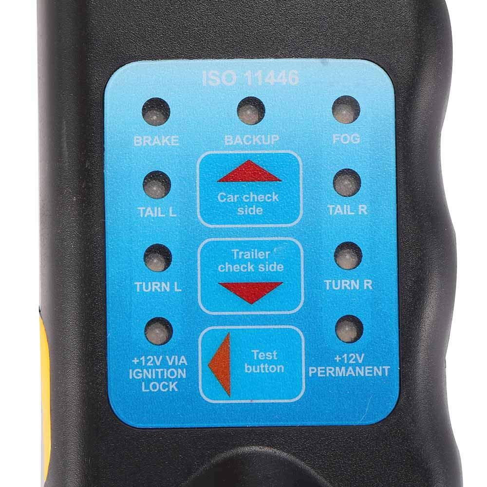 ONEVER Diagnosewerkzeug 13 Pin Car Trailer Caravan Abschleppwagen Anh/ängerkupplung Leuchte Verdrahtungspr/üfer Steckdose Mit ROHS Genehmigt