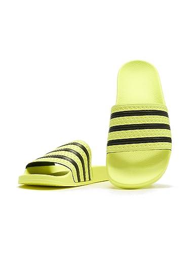 adidas Originals Damen Badeschuhe Adilette W gelb (31) 35