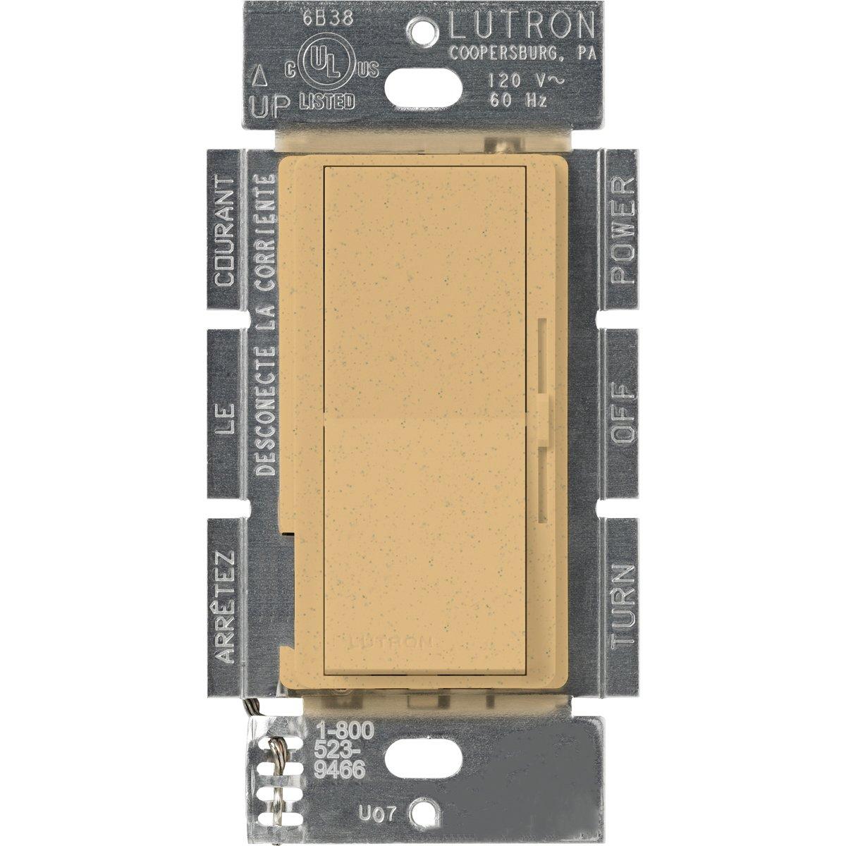 Lutron Diva 1000ワット 調光器 DVSC-10P-DS 1 B000MAPZNA Desert Stone Desert Stone