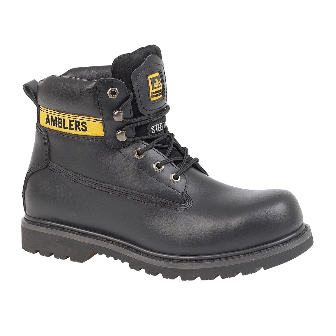 Amblers FS9 Unisex Stahlkappen Schuhe Sicherheitsstiefel  Amazon  ...