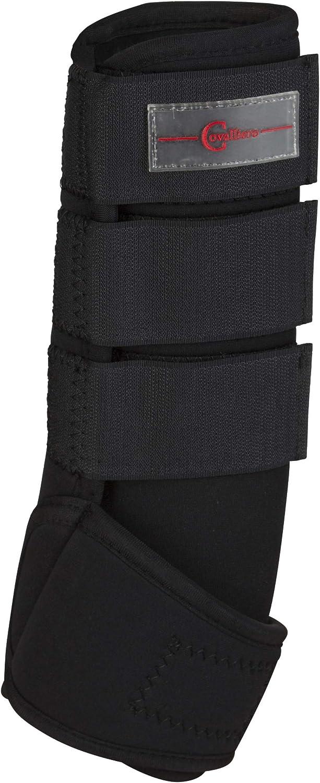 Kerbl 320133 - Protectores de Cabeza (Caucho sintético, WB, 4 Unidades), Color Negro