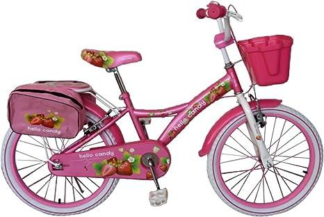 RS2009 Bicicleta para niña HELLO CANDY talla 20 marco en acero ...