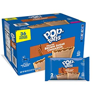 Poptarts Poptarts Frosted Cinnamon And Brown Sugar Toaster Pastries Net Wt 60.9 Ounce , 60.9 Ounce