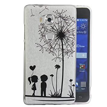 Dooki A0-3 Honor 5X / GR5 Coque Mince Souple Caoutchouc GEL Téléphone Couverture Housse Coque Etui Pour Huawei Honor 5X / GR5