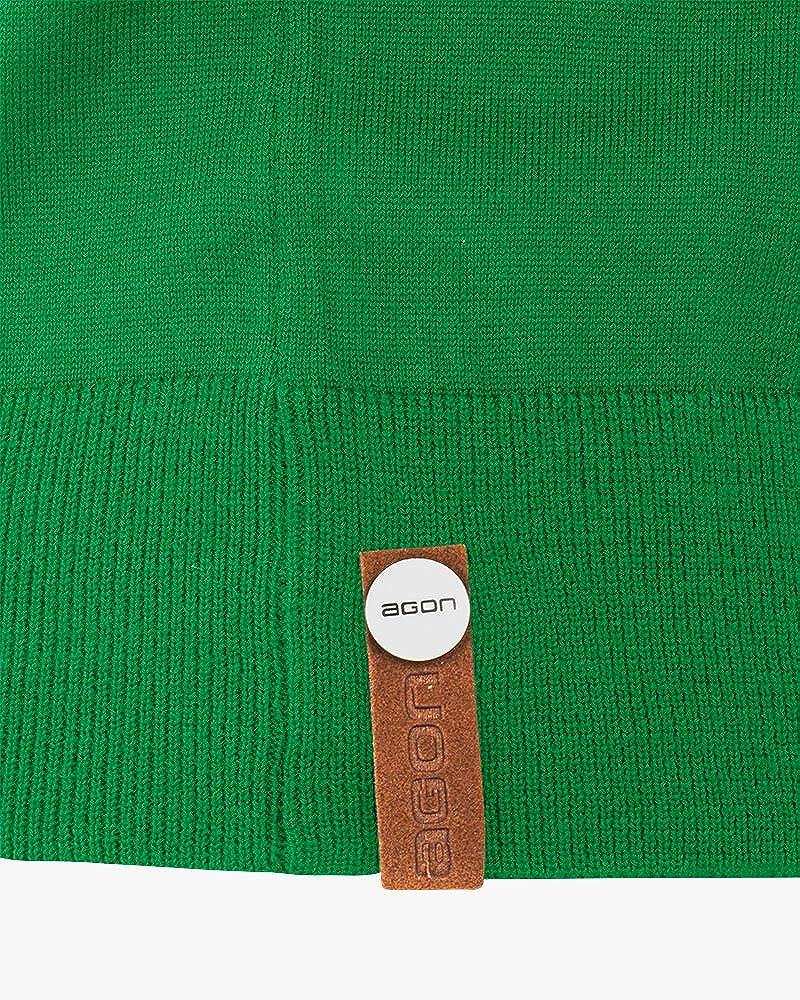 Premium Herren Strick-Pullunder 100/% Merino-Wolle agon extrafein V-Ausschnitt