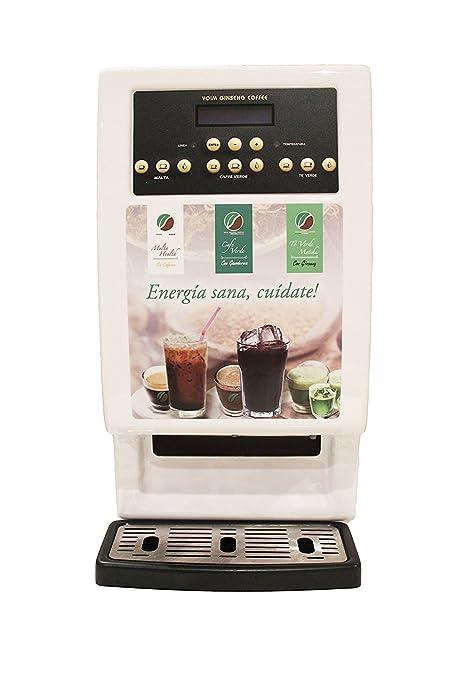 Máquina de bebidas solubles (café,té,...) de 3 selecciones