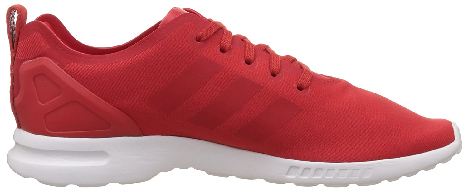 huge discount d8492 a5f00 adidas Women s Zx Flux Smooth Sneakers red Size  6.5  Amazon.co.uk  Shoes    Bags