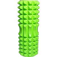 RIKFIT Foam Roller - Rodillo de EVA Espuma – Masajes Muscular Fitness Pilates Yoga - Liberación de Tejido Profundo miofascial y Alivio de Dolores