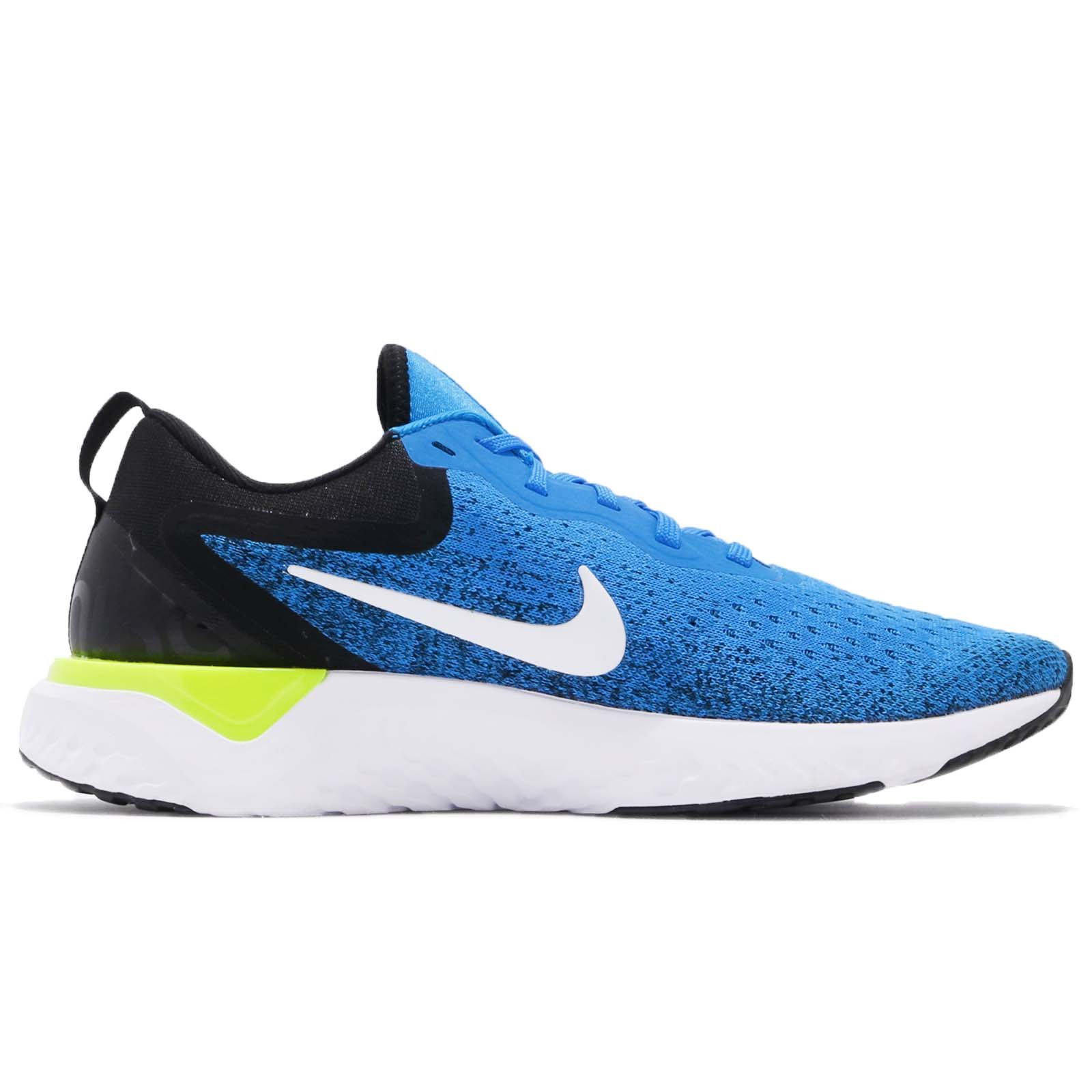 Nike Men's Odyssey React Running Shoes (7.5, Photo Blue/Black) by Nike (Image #2)