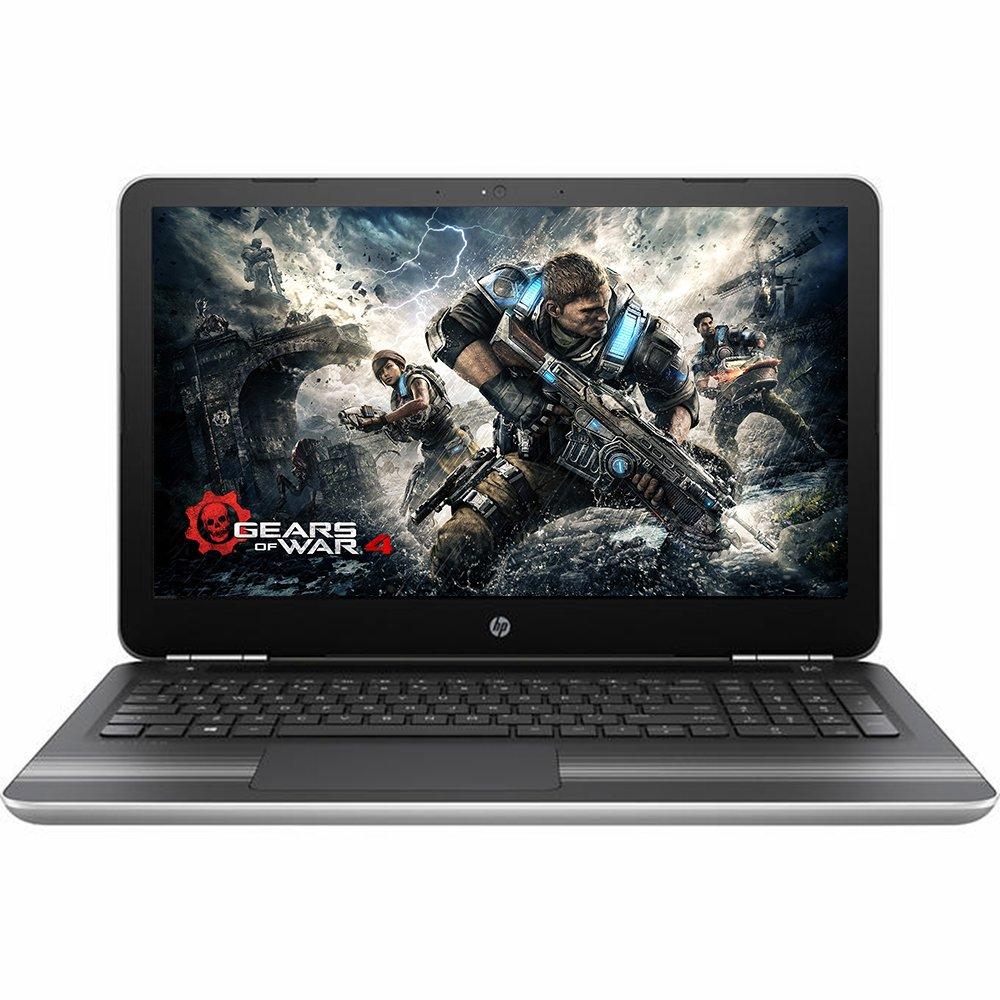 2016 HP Pavilion 15.6-inch Touchscreen Premium Laptop PC Intel Dual-Core i3-6100U, 8GB DDR3L RAM, 1TB HDD, DVD Burner, HDMI, Wifi, Windows 10 (Silver) by HP