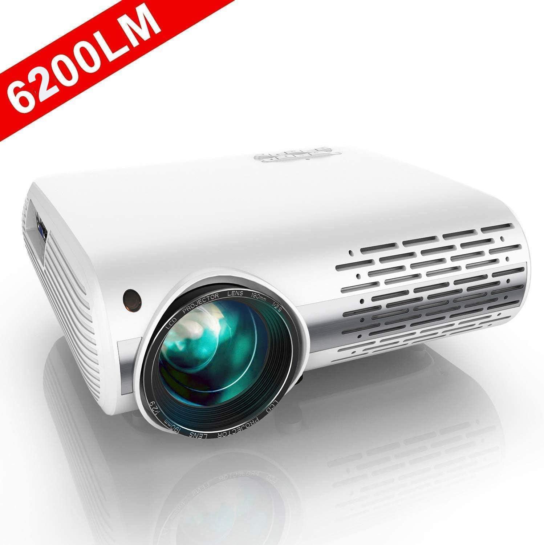 Proyector, YABER Proyector Full HD 1080P 6200 Lúmenes Proyector ...