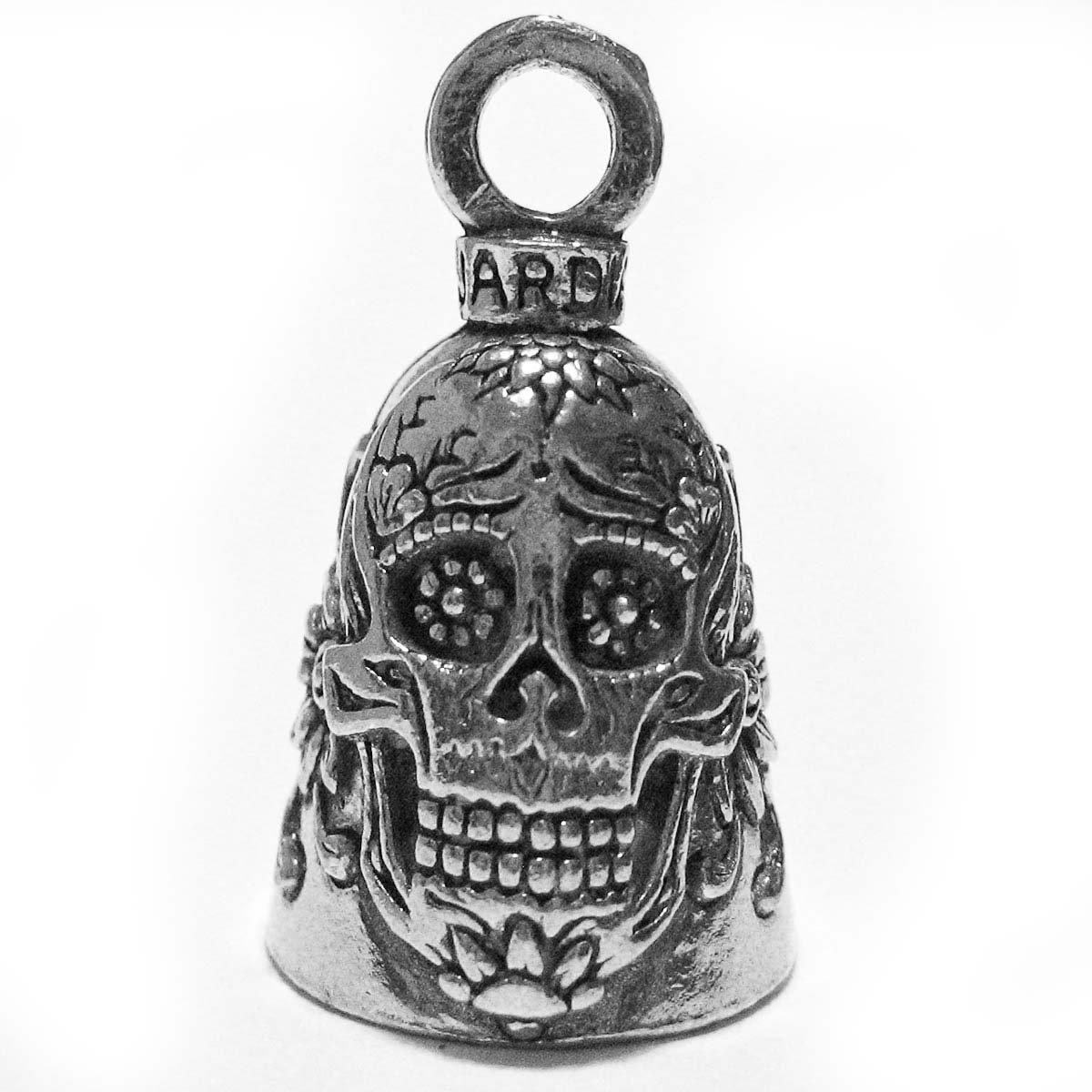 Guardian® Sugar Skull Flowers of Death Motorcycle Biker Luck Gremlin Riding Bell Guardian® Bell LYSB00ACKLOEY-SPRTSEQIP