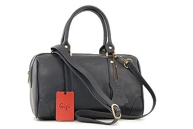 Lederhandtasche Othello von Gigi - Rot - GRÖßE: B: 29,5 cm, H: 18 cm, T: 16,5 cm Gigi