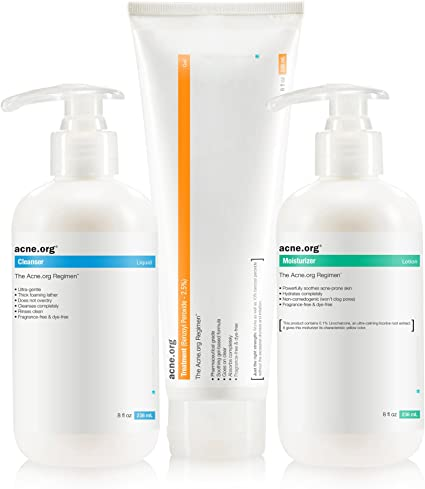 Amazon Com The Acne Org Regimen Complete Acne Treatment Kit Health Personal Care