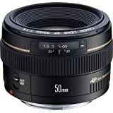 Canon EF 50 mm-f/1.4 USM Lens, Black