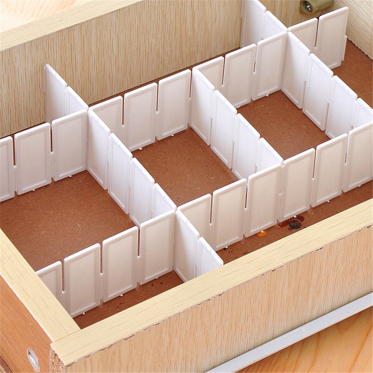 Genial Amazon.com: Drawer Clapboard Divider Cabinet DIY Storage Organizer: Home U0026  Kitchen