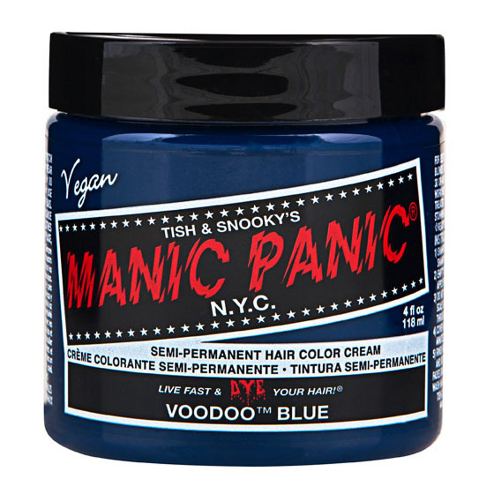 MyPartyShirt Voodoo Blue Manic Panic 4 Oz Hair Dye