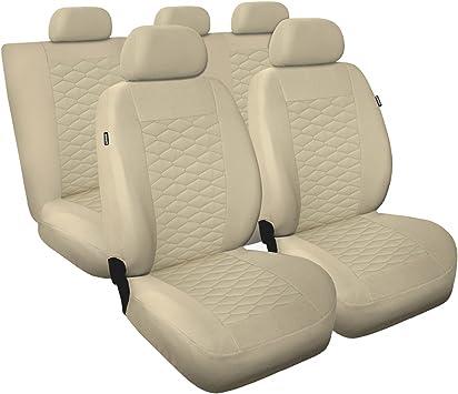Mercedes 190 Beige Universal Sitzbezüge Sitzbezug Auto Schonbezüge MODERN