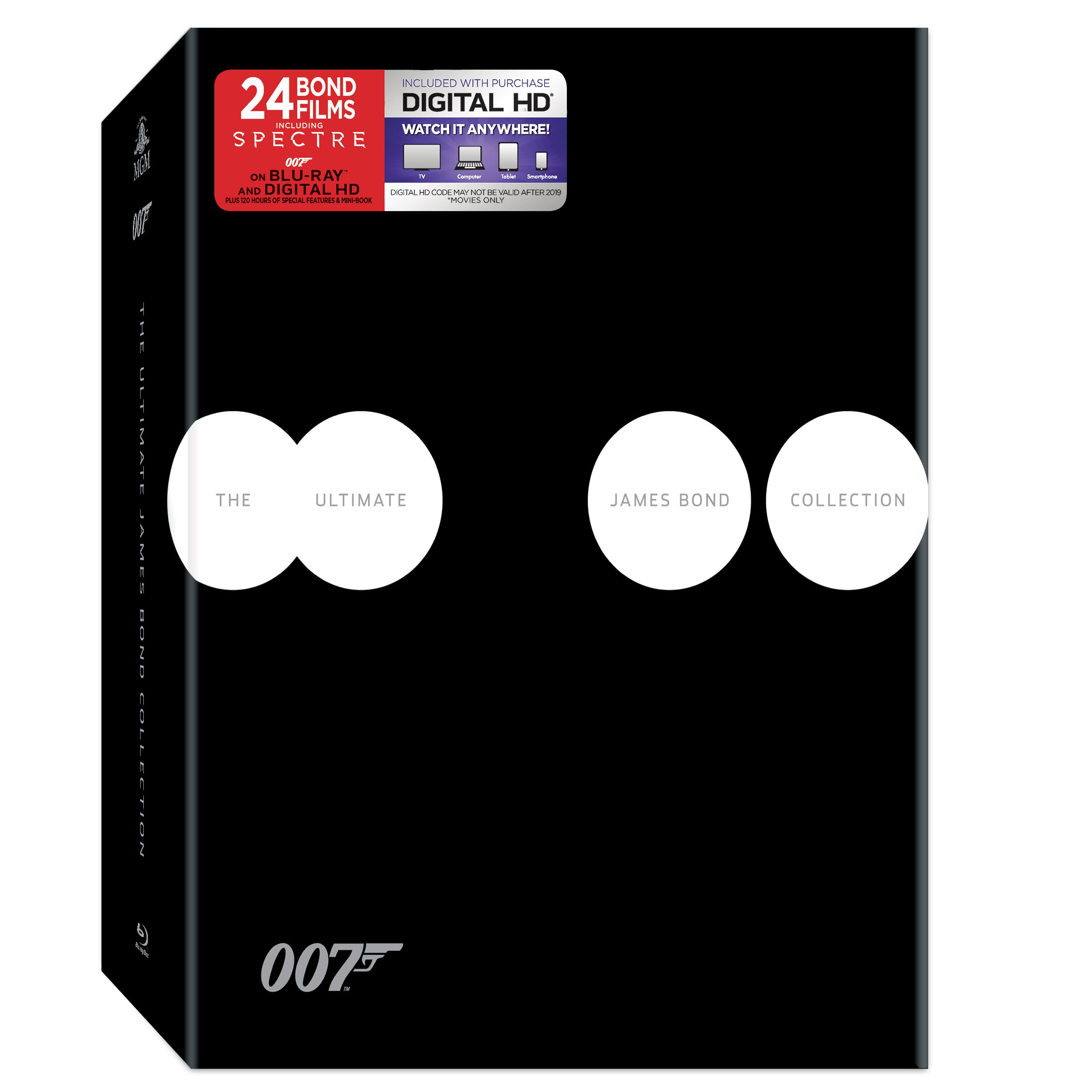 Ultimate James Bond Collection, The Blu-ray
