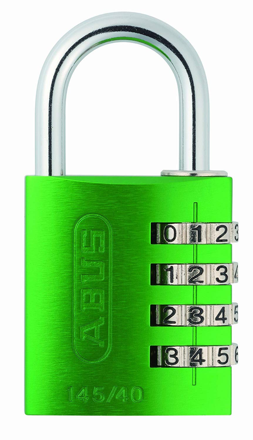 ABUS 145/40 Combination Padlock - Green ABU14540GRE-TB
