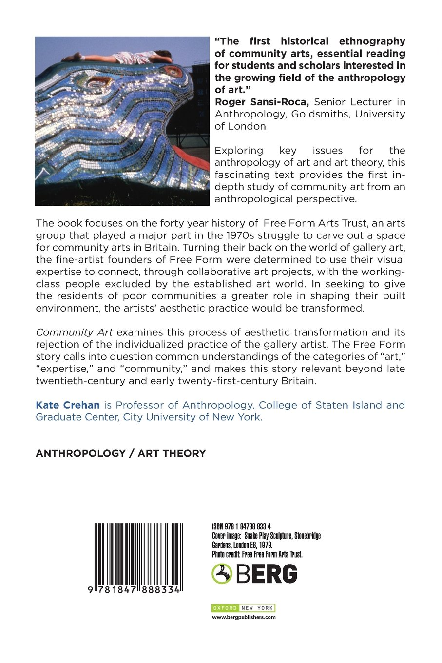 Community Art: Amazon co uk: Kate Crehan: 9781847888334: Books