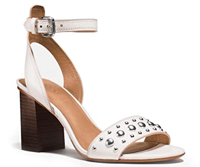 425dce50372 Image Unavailable. Image not available for. Color  Coach Woman s Paige  Studded Heel Sandal ...