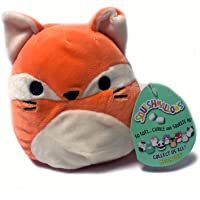 Squishmallow 5 Inch Orange Fox #1 Plush Super Soft Squishy Stuffed Animals Age 0+ (James The Fox)