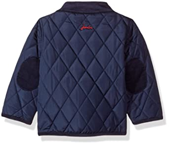 5ac42c2a2 Joules Baby Infant Toddler Boys French Navy Milford Quilted Coat Jacket:  Amazon.co.uk: Clothing
