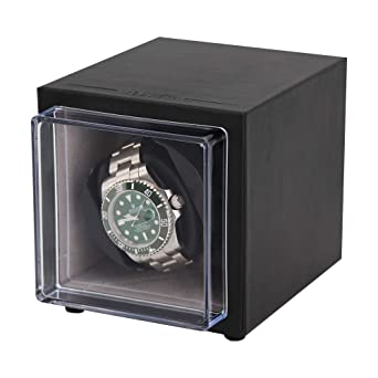 Driklux Automatic Single Watch Winder for Luxury Watches , Mini Automatic  Winder with Quiet Motor with Microfiber Interior