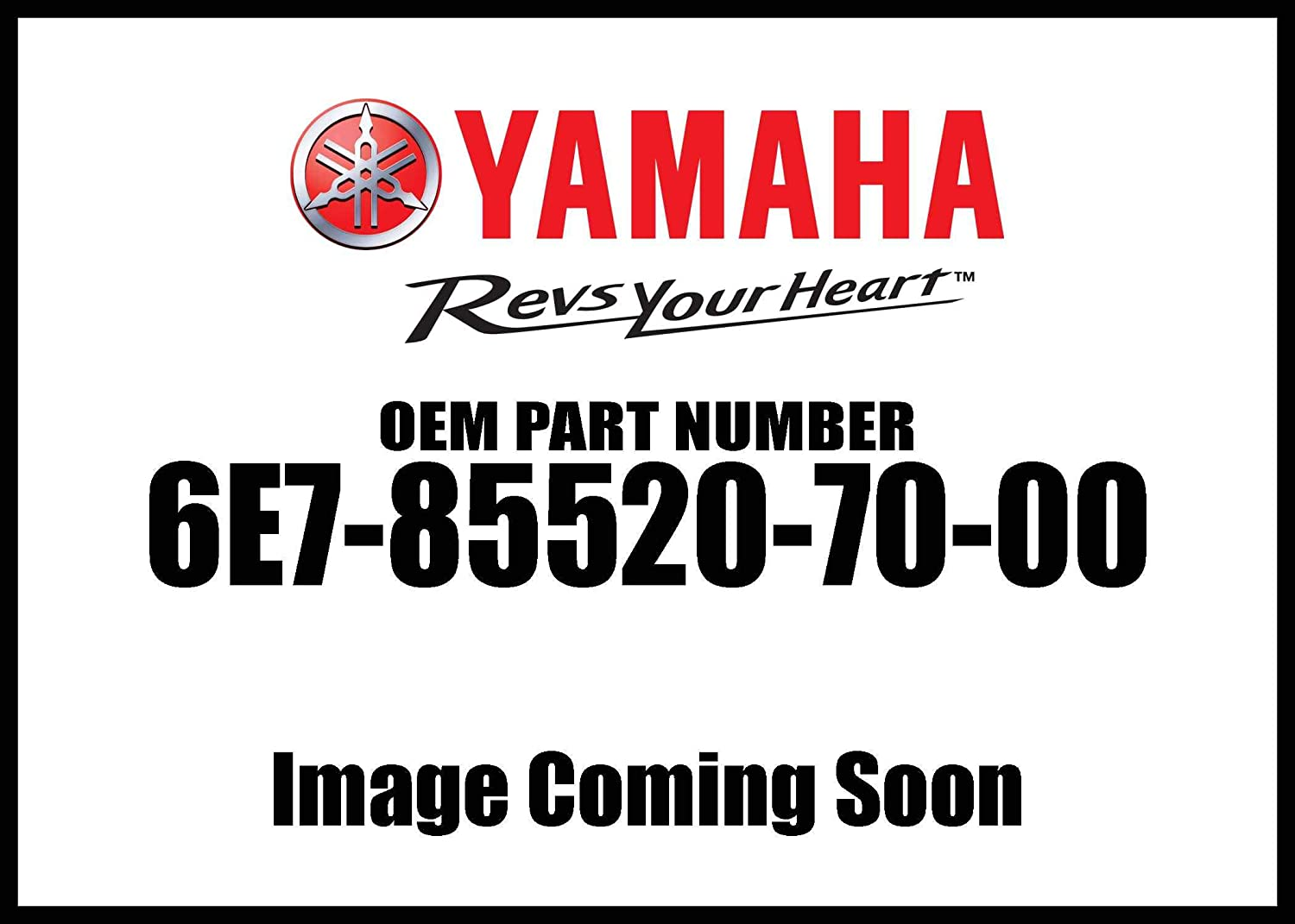 Yamaha Coil Charge 6E7-85520-70-00 New Oem