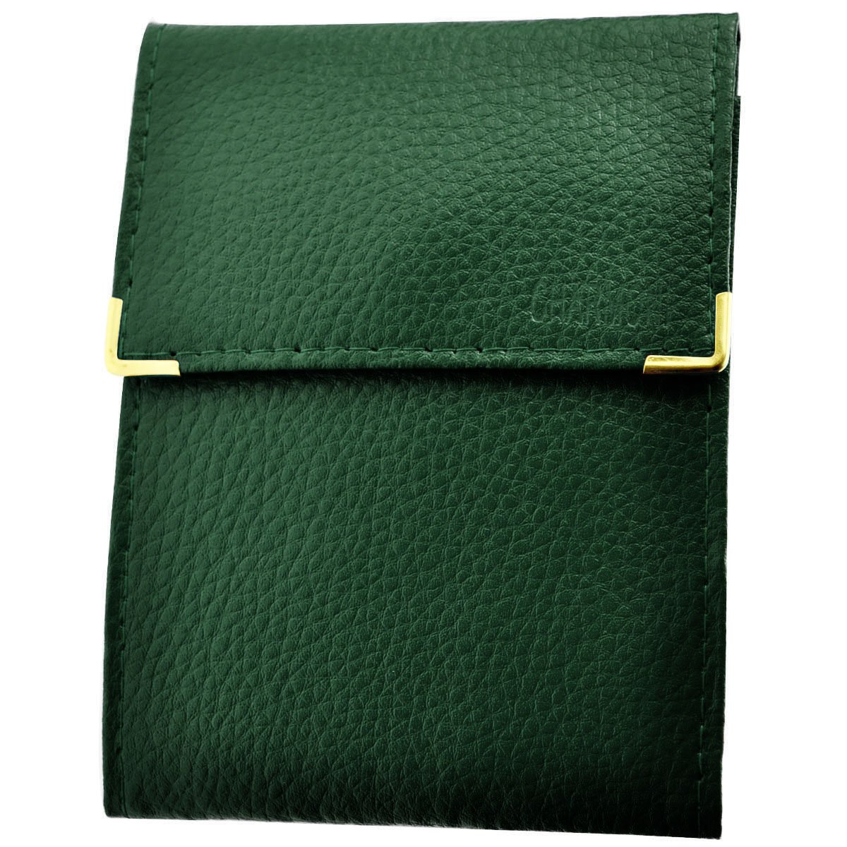 Can Hold Bank Cards Folding Long 3/Parts Charmoni/® Unisex Chequebook Holder Mila Saffiano leather