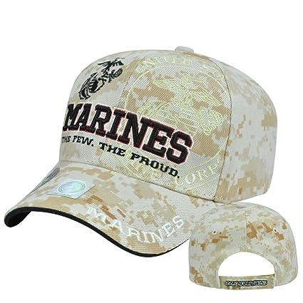 United States USMC Marines Corps Few Proud Digital Camo Camouflage Hat Cap