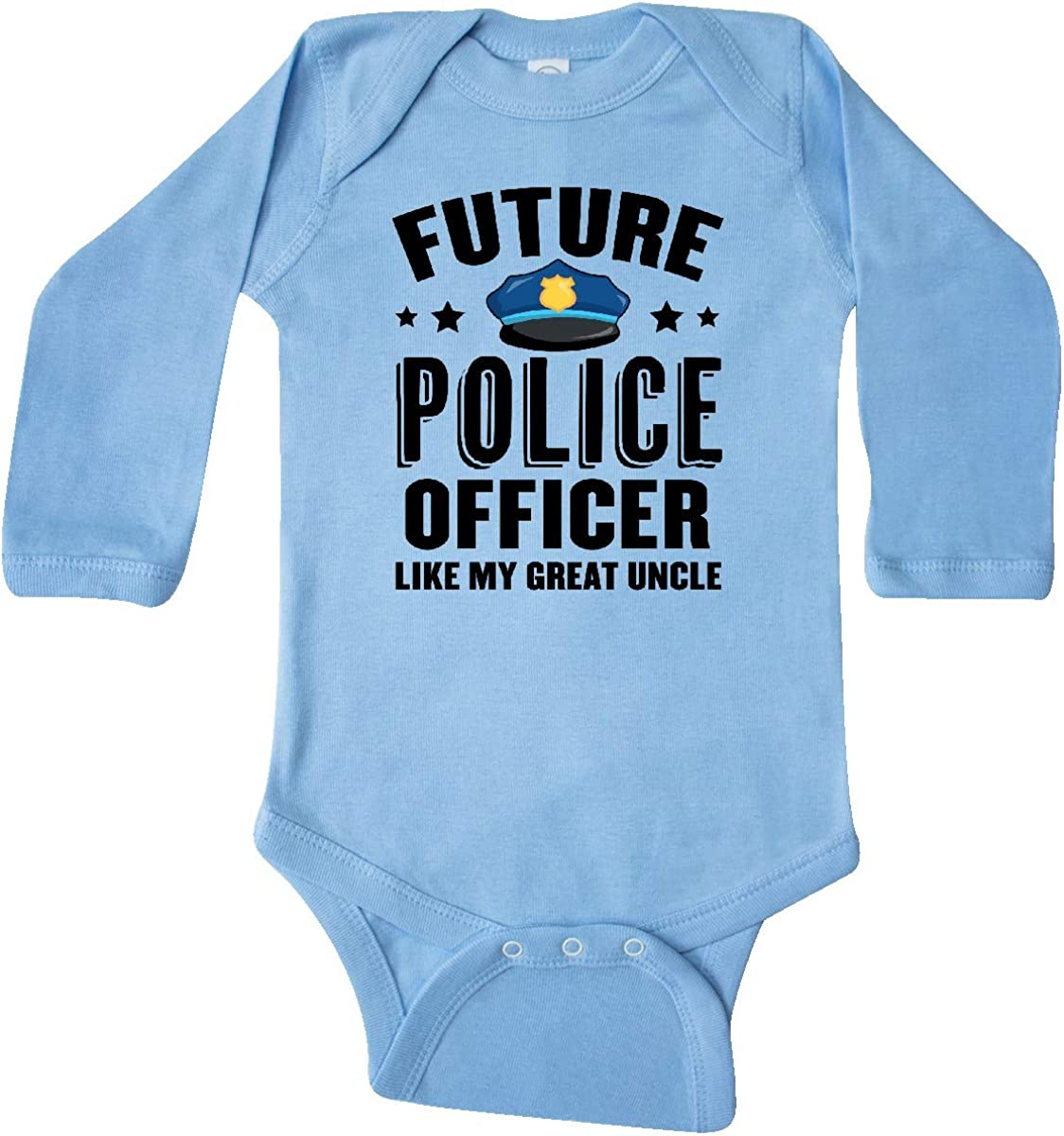 inktastic Future Police Officer Like My Great Uncle Long Sleeve Creeper