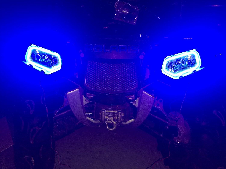 Halo Rings for headlights Led Sportsman Polaris  2011 570 850 1000 highlifter