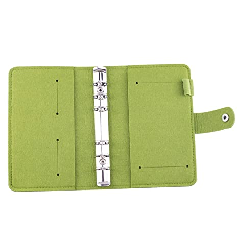 Amazon.com : Loose Leaf Notebook Diary Plan Ring Binder ...