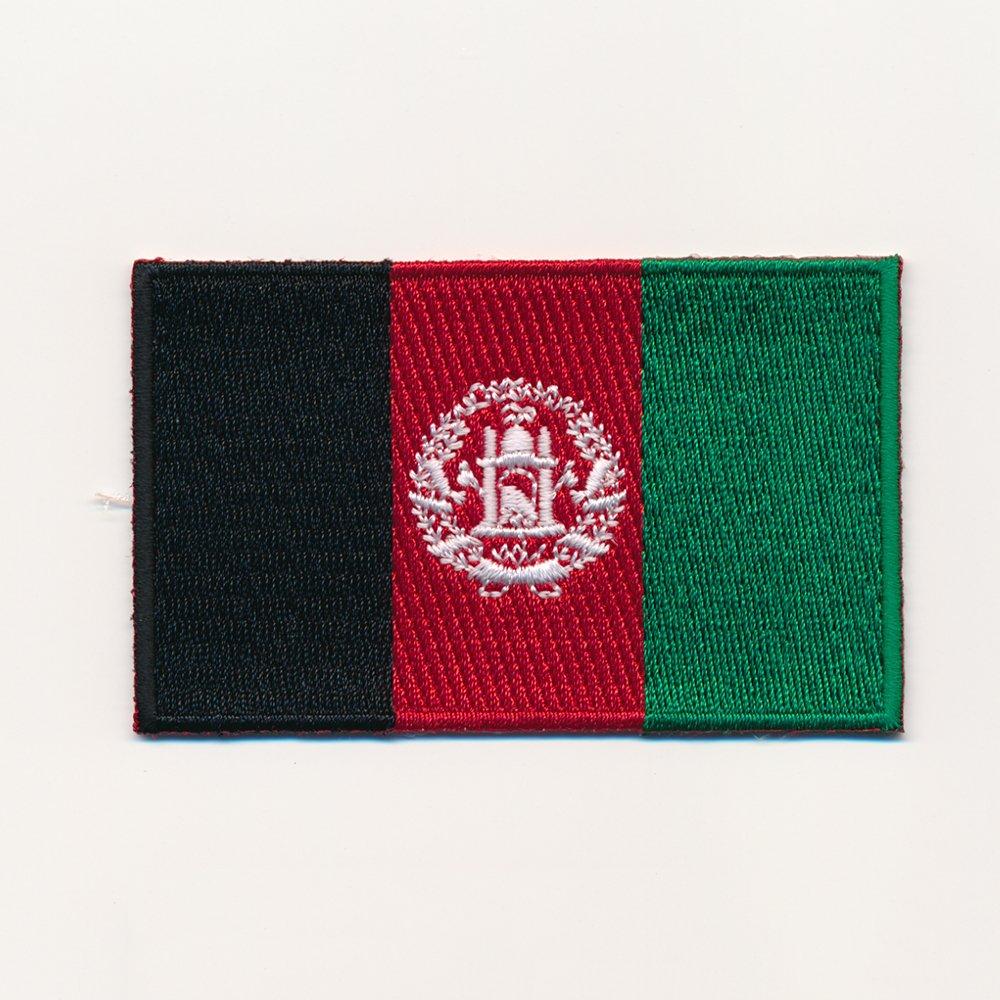 /Kabul Flag/ 60/x 35/mm/ /Afghanistan Flag Iron-on Patch 0935/B