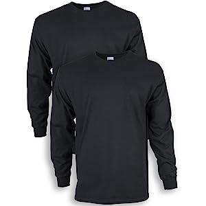 b9306189c7a Gildan Men s Ultra Cotton Adult Long Sleeve T-Shirt