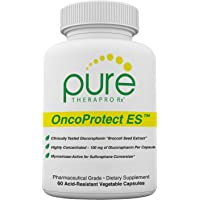 "OncoProtect ES *HIGH DOSE* 60 VCaps | 100mg of Glucoraphanin""truebroc"" Per Capsule 