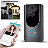 Halffle M2 Wireless Visual Smart Doorbell Alarm WiFi Mobile ...