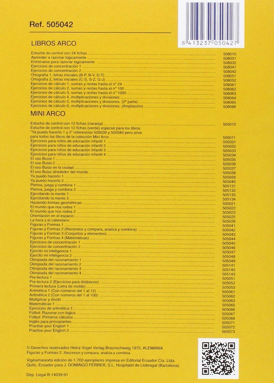 FIGURAS Y FORMAS 2 MINI ARCO: Amazon.es: AA.VV: Libros