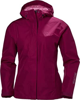 Helly Hansen Women's Seven J Waterproof, Windproof, & Breathable Rain Jacket
