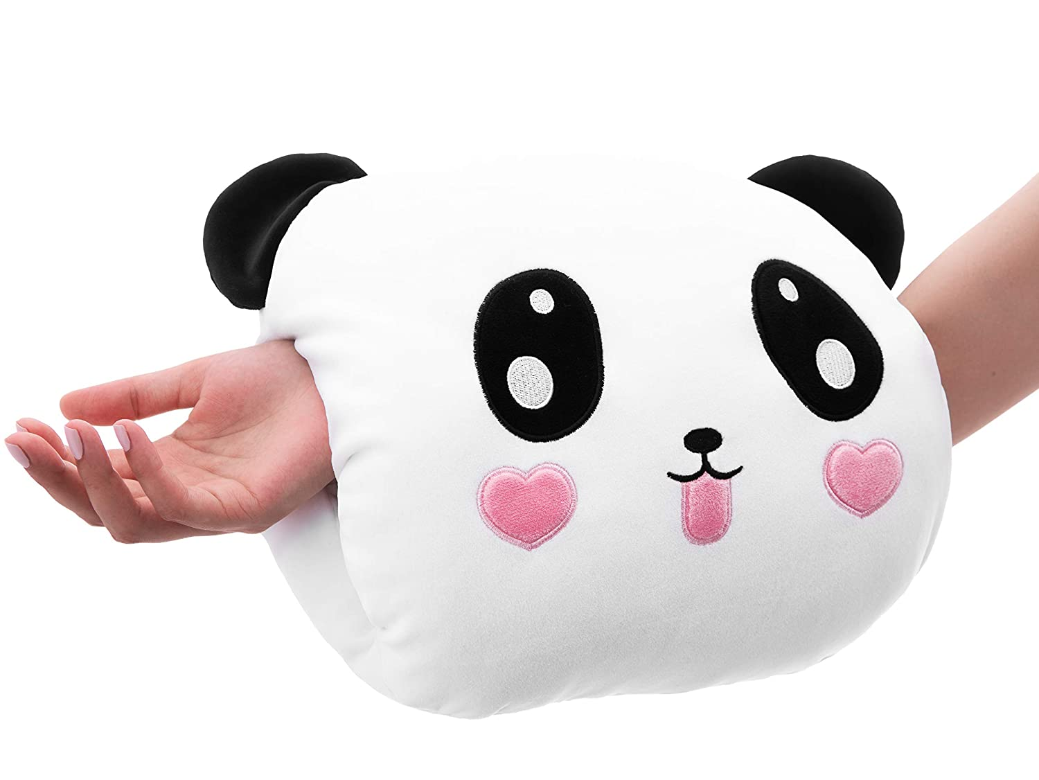 Best Nursing Pillow for Arm Breastfeeding, 5-in-1 Baby Travel Pillows, Panda Nursery Room Decor, Babies Gas Relief Positioning, Flat Head Support Sleeping, Breast Feeding, w/Free Matching Bag Gift KL